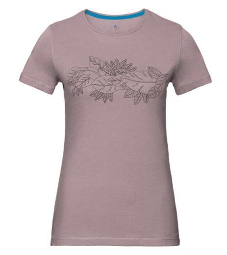 Odlo Funktionsshirt »odlo Kumano Freizeit-Shirt innovatives Damen Funktions T-Shirt Sport-Shirt Violett«