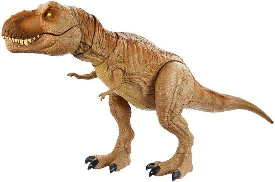 Mattel® Spielfigur »Jurassic World Brüllender Kampaction T-Rex«