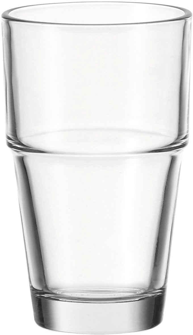 LEONARDO Gläser-Set »Solo«, Glas, 370 ml, 6-teilig