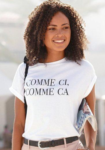 Buffalo T-Shirt mit Print