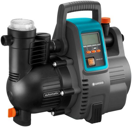 GARDENA Hauswasserautomat »5000/5 LCD, 01759-61«, 5.000 l/h max. Fördermenge