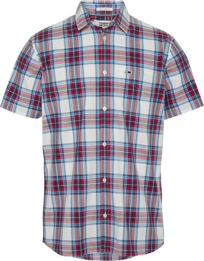 Tommy Jeans Kurzarmhemd »TJM SHORTSLEEVE CHECK SHIRT«