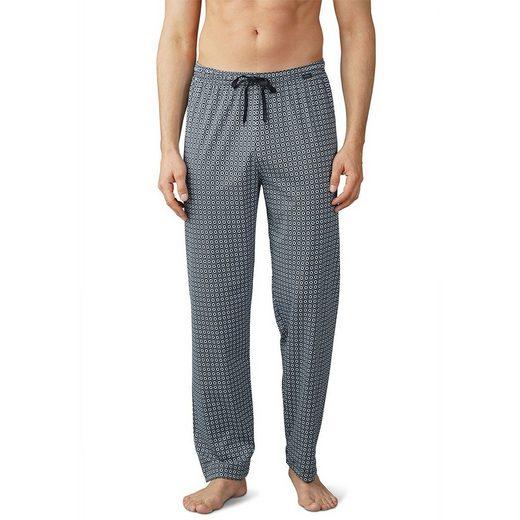 Mey Schlafhose »Basic Lounge Nightwear Mix & Match Hose lang« Komfortbund mit Kordelzug, Grafischer Print, Natürliches Tragegefühl