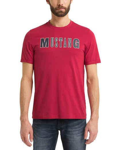 MUSTANG T-Shirt »Alex C LOGO Tee« T-Shirt