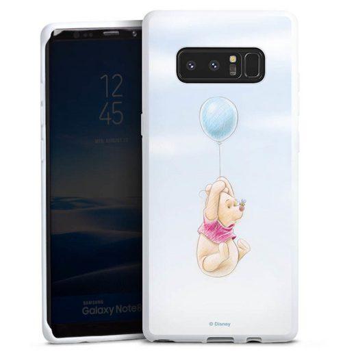DeinDesign Handyhülle »Winnie Puuh Balloon« Samsung Galaxy Note 8, Hülle Offizielles Lizenzprodukt Winnie Puuh Disney