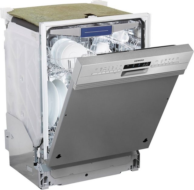 Küchengroßgeräte - SIEMENS teilintegrierbarer Geschirrspüler iQ300, SX536S03NE, 9,5 l, 14 Maßgedecke  - Onlineshop OTTO