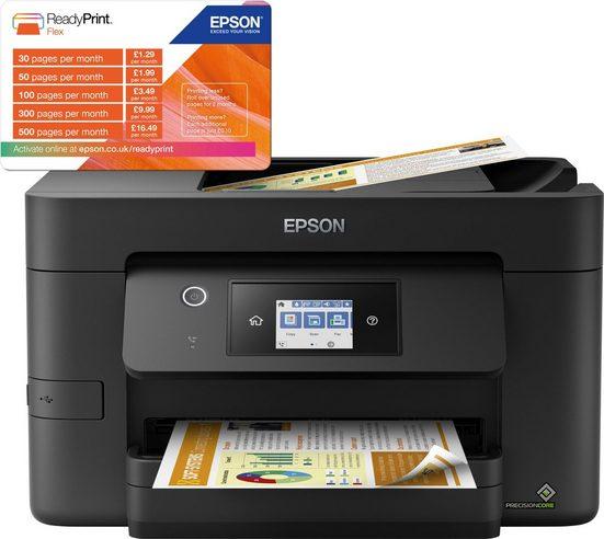Epson WorkForce Pro WF-3820DWF WLAN-Drucker, (LAN (Ethernet), WLAN (Wi-Fi)