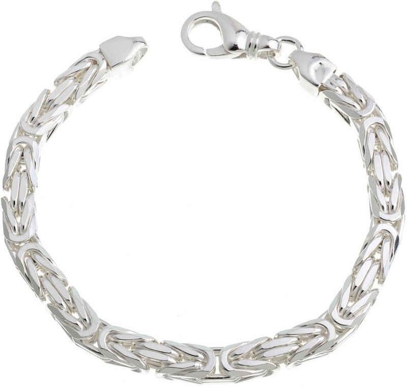 Silberkettenstore Königskette »Königskette Armband 6mm, 925Silber 18-25cm«