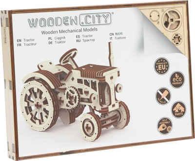 Wooden City Modellbausatz »Traktor«, aus Holz; Made in Europe