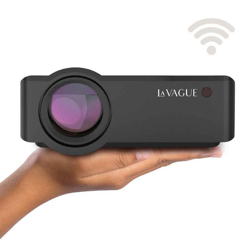 LA VAGUE »LV-HD340 Wi-Fi« LED-Beamer (2500 lm, 1000:1, 1920 x 1080 px, LV-HD340 LED-Projektor Wi-Fi, Heimkino- und Gaming-Vergnügen der Extraklasse)