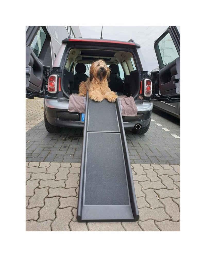 Steelboxx Hunderampe »Auto Hunderampe klappbar Grip-Tape Anti Rutsch« (1-St), Anti Rutsch Belag, klappbar