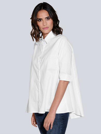 Alba Moda Hemdbluse in ausgestellter Form