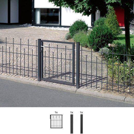 GAH ALBERTS Zaun-Einzeltür »Madrid«, 100 cm hoch, 100 cm breit