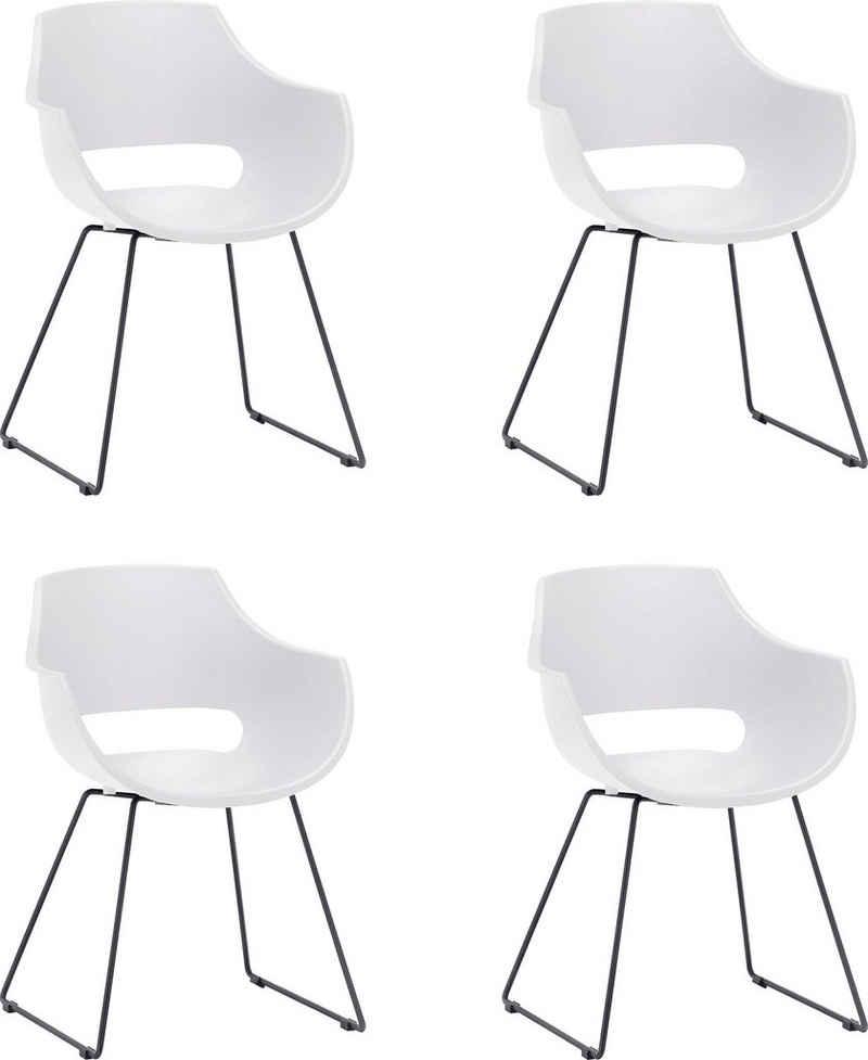 MCA furniture Schalenstuhl »Rockville« (Set, 4 Stück), Stuhl belastbar bis 120 Kg
