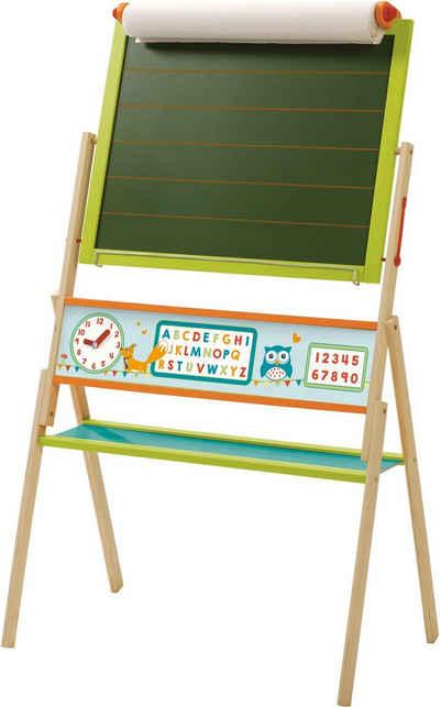 roba® Standtafel »ABC Eule«, zweiseitig, mit weißer Magnetseite