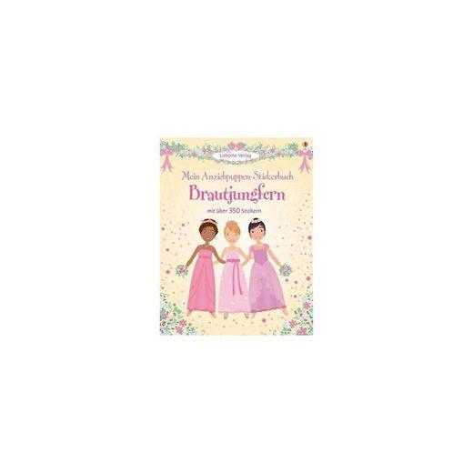 Usborne Verlag Mein Anziehpuppen-Stickerbuch: Brautjungfern