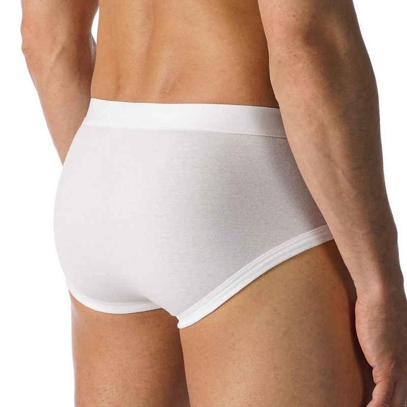 Mey Slip »Casual Cotton« Slip mit Webbund - Unterhose - Aufgesetzter Webbund, Weiche Beinabschlüsse, Natürliches Tragegefühl