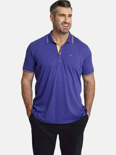 Charles Colby Poloshirt »EARL FEN« bequeme Jersey-Qualität