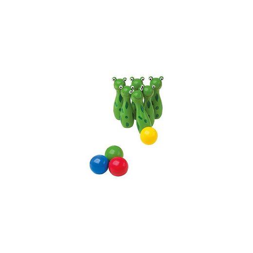 Small Foot Spiel, »Kegelspiel Frosch«