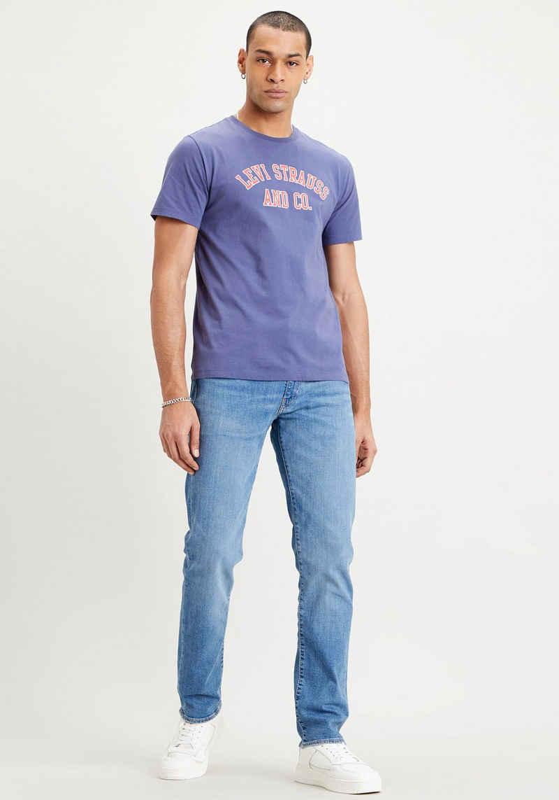 Levi's® T-Shirt mit gebrochenem Logo-Print