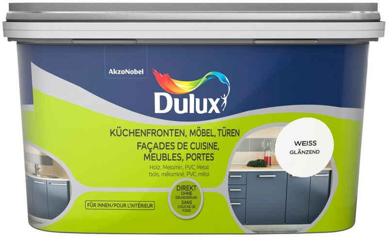 Dulux Holzlack »Fresh Up«, für Küchen, Möbel und Türen, weiß, 2l