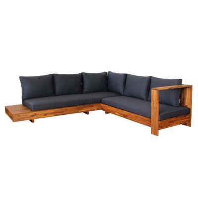 MCW Sitzgruppe »MCW-H59«, Fünf Sitzplätze, Inkl. Ablagefläche, Bezüge mit Reißverschluss, Erhöhte Polsterdicke für mehr Bequemlichkeit