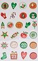 maildor Sticker »Weihnachten«, 8 Blatt, Bild 7
