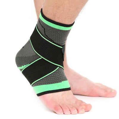 Masbekte Fußbandage, Sprunggelenk Bandage, Verband Knöchel Stütze, Fussgelenkbandage Schoner