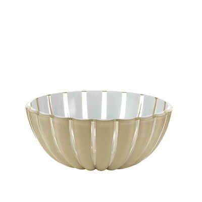 Guzzini Schale »guzzini Schale GRACE gold-weiß D ca. 20 cm«, Acrylglas, (Stück)