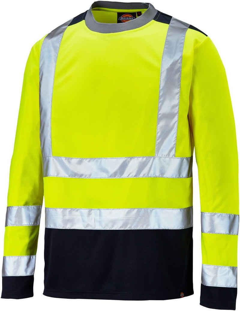 Dickies T-Shirt »Hi-Vis Langarm« hochsichtbare Warnschutzkleidung