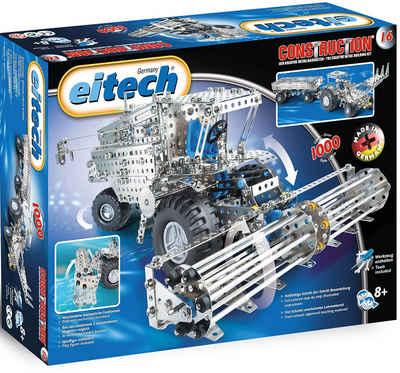 Eitech Metallbaukasten »Mähdrescher/ Traktor mit Anhänger«, (1000 St), Made in Germany