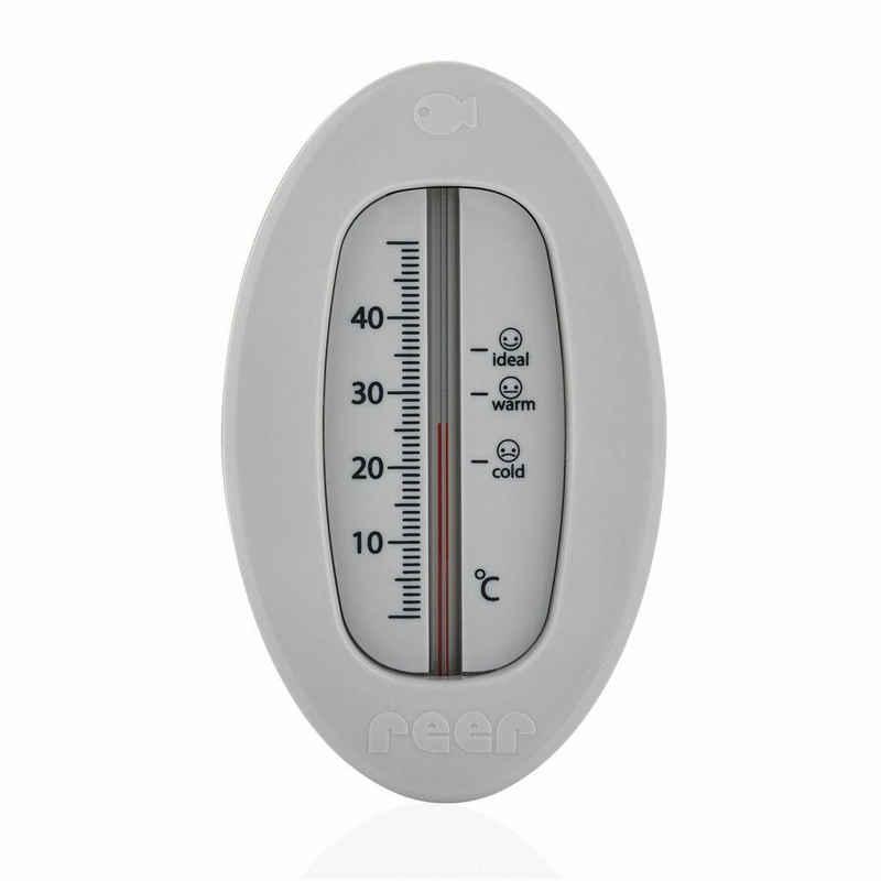 Reer Badethermometer »Oval Grau«