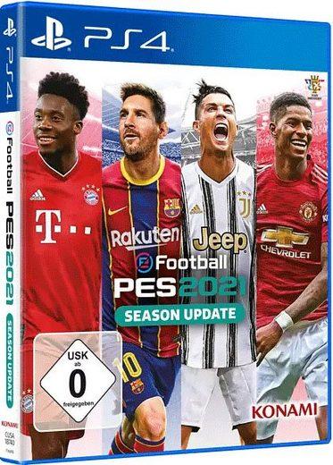 PES 2021 PlayStation 4