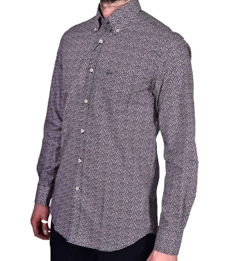 PAUL & SHARK Hemd »PAUL & SHARK Button Down Hemd stilvolles Herren Designer-Hemd Business-Hemd Sommer-Hemd Made in Italy Blau/Rot/Weiß«