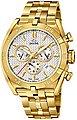 Jaguar Chronograph »UJ853/1 Jaguar Herren Uhr Sport J853/1 Edelstahl«, (Chronograph), Herren Armbanduhr rund, extra groß (ca. 46mm), Edelstahlarmband gold, Bild 1