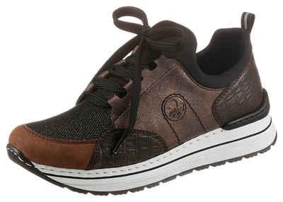 Rieker Slip-On Sneaker mit Glitzer
