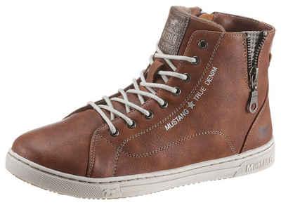 Mustang Shoes Sneaker mit kleinem Zierreißverschluss