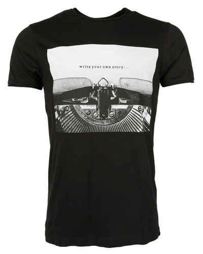 Maze Print-Shirt »42020163«