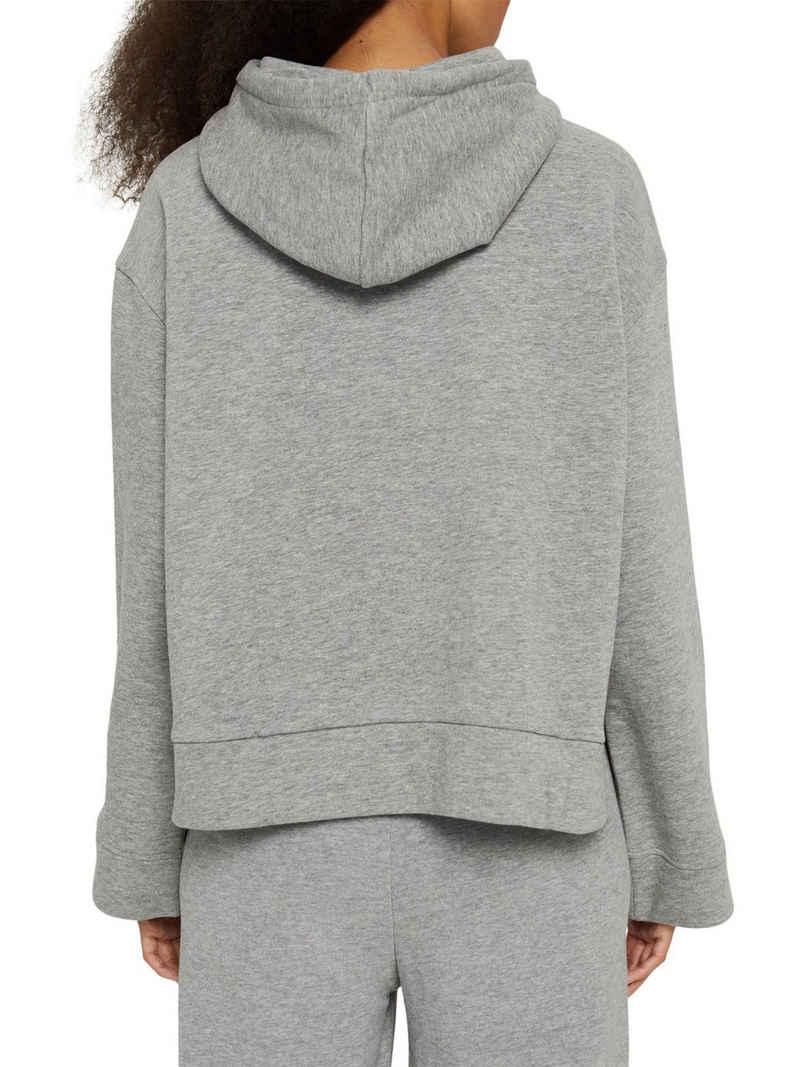 edc by Esprit Sweatshirt »Hoodie aus Bio-Baumwoll-Mix« (1-tlg)