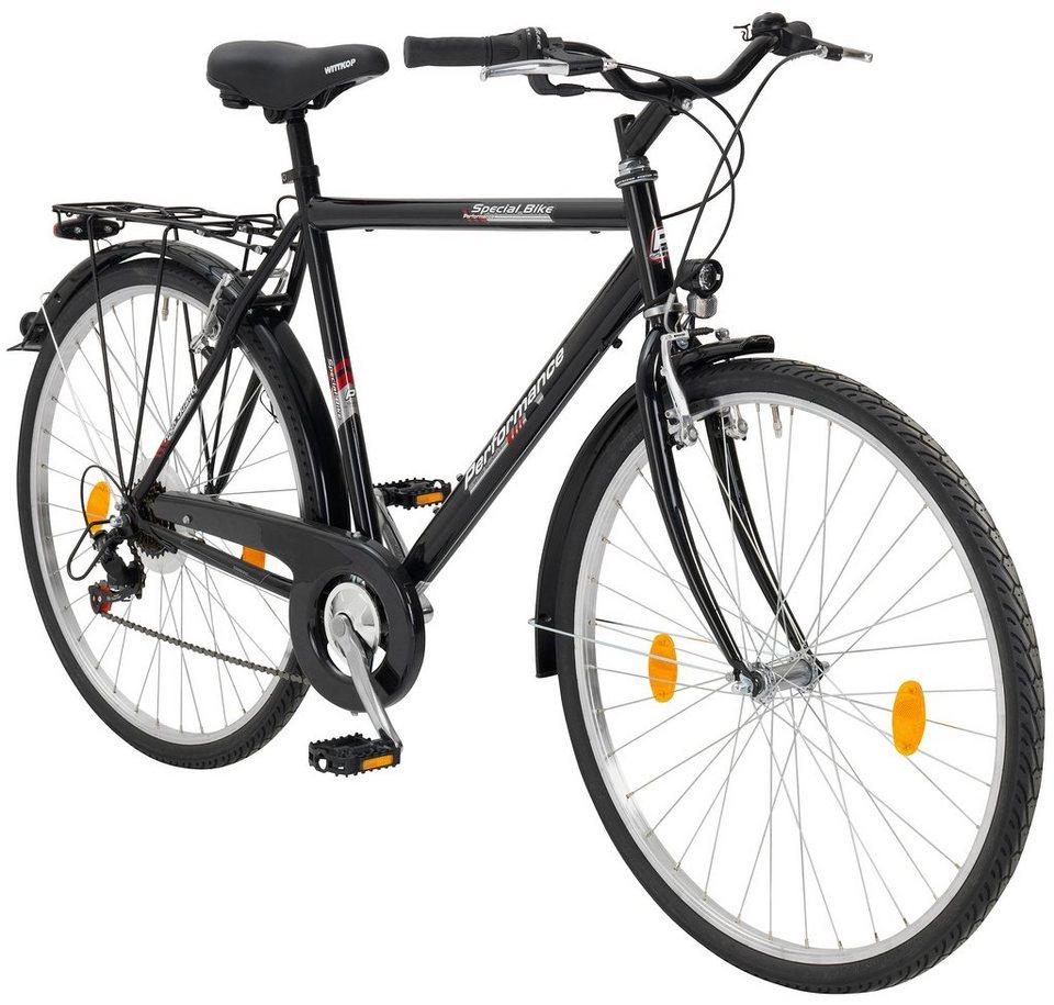 performance citybike herren malm 28 zoll 6 gang v bremsen online kaufen otto. Black Bedroom Furniture Sets. Home Design Ideas
