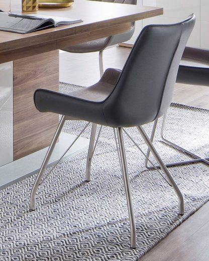 MCA furniture 4-Fußstuhl »Danita A« 2er-Set, Stuhl bis 120 Kg belastbar