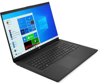 HP 17-cn0235ng Notebook (43,9 cm/17,3 Zoll, Intel Core i3, UHD Graphics, 512 GB SSD)
