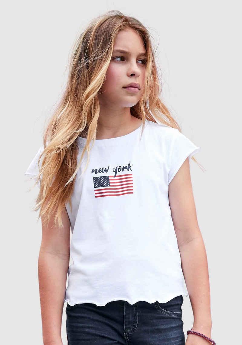 Arizona T-Shirt »New York« in kurzer Form