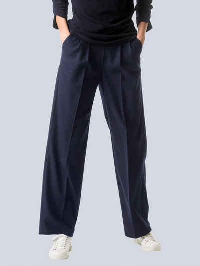Alba Moda Bundfaltenhose in N-und K-Größen