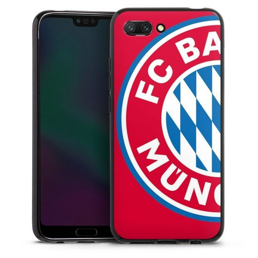 DeinDesign Handyhülle »großes FCB Logo Rot« Huawei Honor 10, Hülle FC Bayern München Offizielles Lizenzprodukt FCB