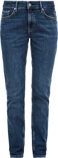 Hosen - s.Oliver Regular fit Jeans »Karolin« straight leg, mid rise › blau  - Onlineshop OTTO