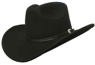 Dallas Hats Cowboyhut »OUTLAW 6 Cowboyhut Schwarz« Pinch Front