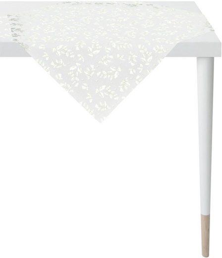 APELT Mitteldecke »3625 Christmas Elegance, Jacquardgewebe« (1-tlg), mit glänzenden Fäden