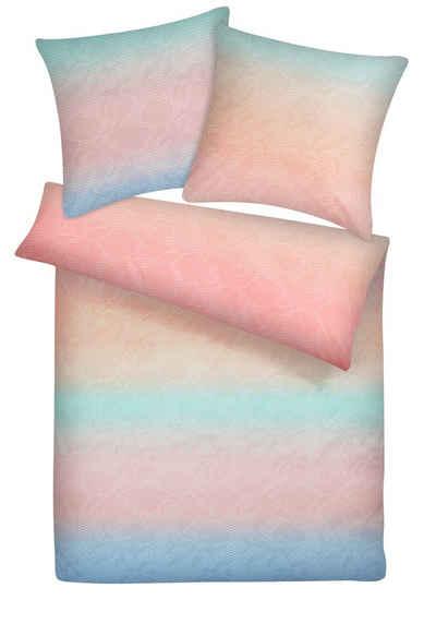 Bettwäsche »Kuschelige bunte Biber Bettwäsche aus 100% Baumwolle«, Carpe Sonno, Warme Winterbettwäsche 155 x 220 cm, angenehm leicht auf der Haut, flauschige Bettgarnitur, hochwertige Biberbettwäsche mit Wohlfühlcharakter, atmungsaktiver & wärmender Flanell-Bettbezug, pflegeleicht & trocknergeeignet