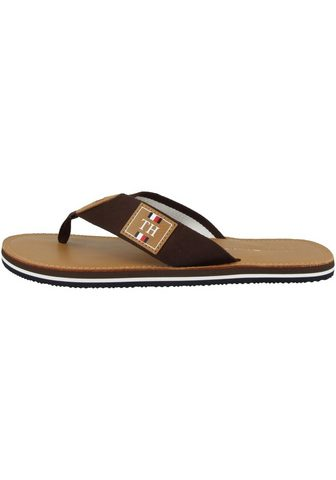 TOMMY HILFIGER »Elevated TH Leather Beach Sandal« Šle...